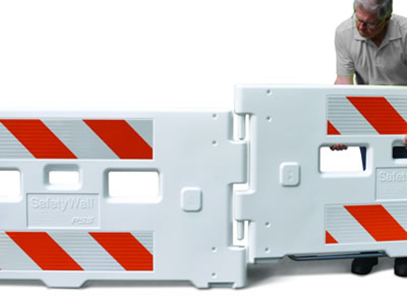 SafetyWall is an interlocking device