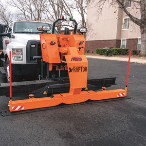Introducing RAPTOR Rumble Strip Handling Machine