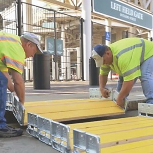 PSS Introduces BoardWalk Temporary Pedestrian Modular Ramp